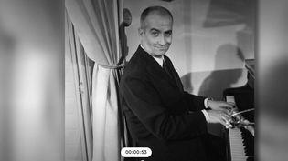 Louis de Funès musicien (Catpure d'écran France 2)