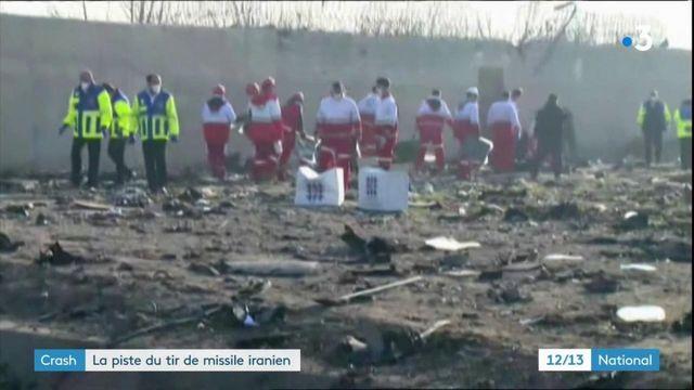 Crash du Boeing 737 : la piste du tir de missile iranien