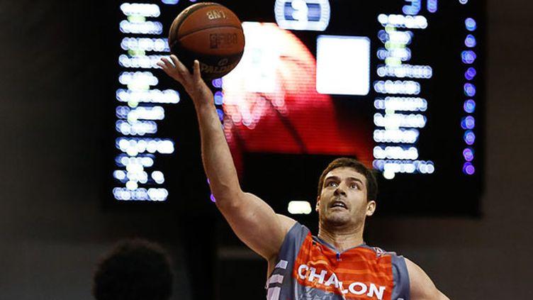 Le joueur de Chalon Ilian Evtimov (ANTHONY MASSARDI / MAXPPP)