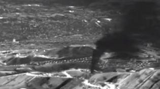 L'Agence chargée de surveiller la qualité de l'air en Californie estime que la fuite libère entre 44 000 et 58 000 kilos de méthane par heure.  (Environmental Defense Fund / Youtube)