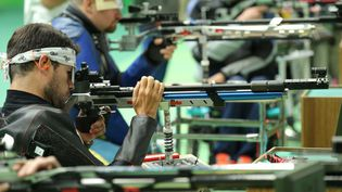 Tanguy de la Forest, champion paralympique de tir sportif. (Comité France paralympique)