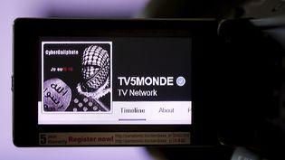 Capture d'écran de la page Facebook de TV5 Monde, piratée dans la nuit du 8 au 9 avril 2015. (CHRISTIAN HARTMANN / REUTERS)