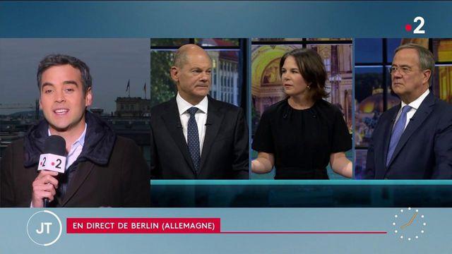 Législatives en Allemagne: Olaf Scholz toujours favori, Armin Laschet ne convainc pas