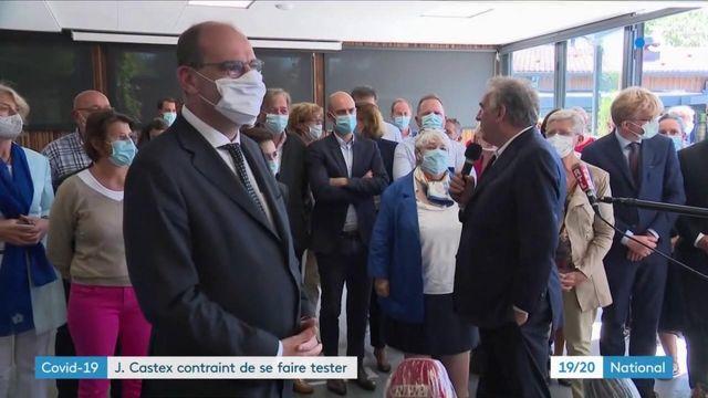 Jean Castex : son premier test au coronavirus négatif
