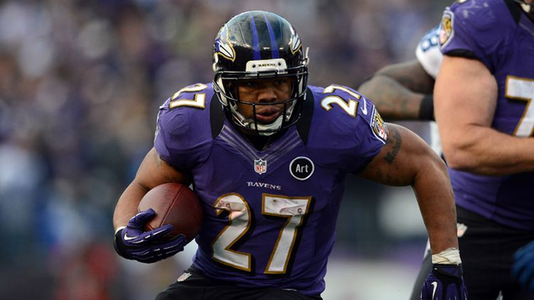 Ray Rice (Baltimore Ravens) mène la charge