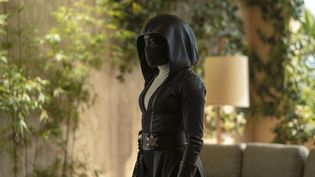 Regina King estAngela Abardans la série HBOWatchmen. (HBO)