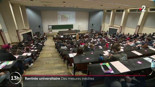 Rentrée universitaire : des mesures inédites