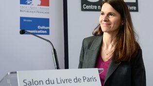 Aurélie Filippetti au Salon du livre 2013  (ERIC FEFERBERG / AFP)