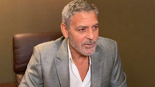 L'acteur et réalisateur américain George Clooney au London Film Festival (Angleterre), le 18 octobre 2020. (BFI / GETTY IMAGES EUROPE)