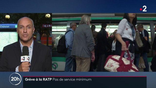 Grève à la RATP : pas de service minimum