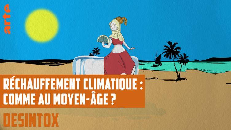 Désintox. Non, le réchauffement climatique actuel n'est pas similaire à celui du Moyen-Âge (ARTE/LIBÉRATION/2P2L)