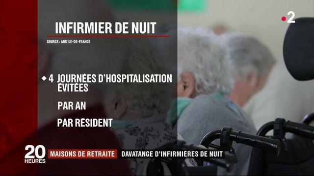 Maisons de retraites : les infirmiers de nuit seront obligatoires