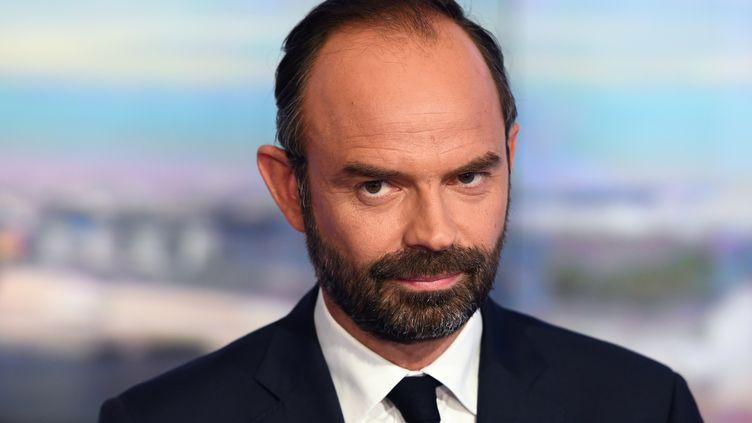 Edouard Philppe a été nommé Premier ministre par Emmanuel Macron, le 15 mai 2017. (POOL NEW / X80003)
