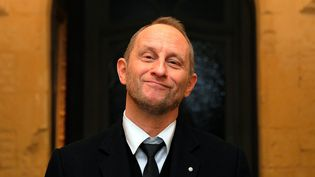 Benoît Poelvoorde à Lille le 4 février 2014  (Max Rosereau / Voix du Nord / MaxPPP)