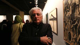 """Le critique d'art italien était notamment connu pour avoir inventé le terme""""Arte Povera"""". (ATTA KENARE / AFP)"""