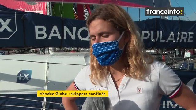 Vendée Globe : les skippers n'échappent pas au confinement