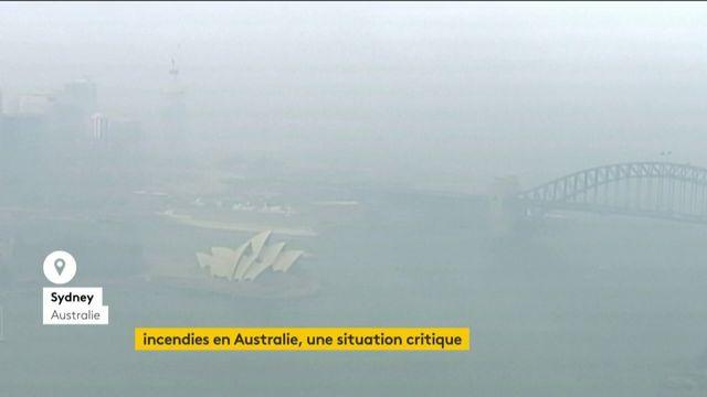 Incendies : situation critique en Australie