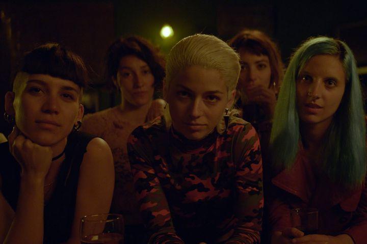 """Mariana Di Girolamo (au centre), révélation du film """"Ema"""" de Pablo Larrain. (KOCH FILMS)"""