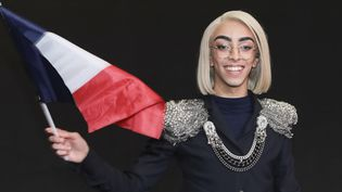 """Bilal Hassani candidat pour l'Eurovision 2019 avec """"roi""""  (Gilles SCARELLA / FRANCE TELEVISIONS / AFP)"""