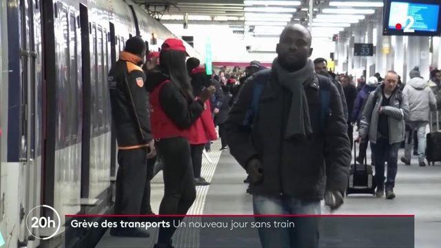 Grève du 10 décembre : un nouveau jour sans train