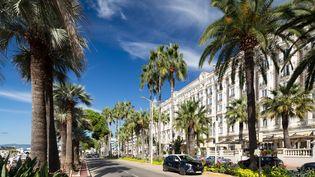 Cannes, sa Croisette, son festival de cinéma, le glamour et un front de mer qui fait rêver...(Illustration) (PAWEL TOCZYNSKI / THE IMAGE BANK RF / GETTY IMAGES)
