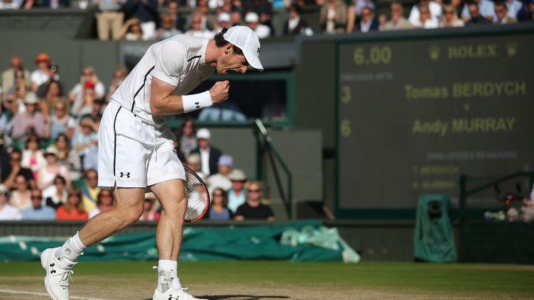 Andy Murray à Wimbledon (JUSTIN TALLIS / POOL)
