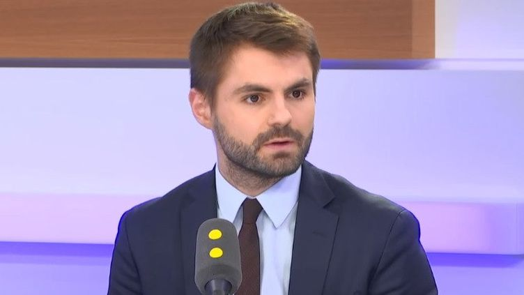 Victor Poirier, directeur des publications de l'Institut Montaigne, invité de franceinfo le 4 février 2020 (RADIO FRANCE)