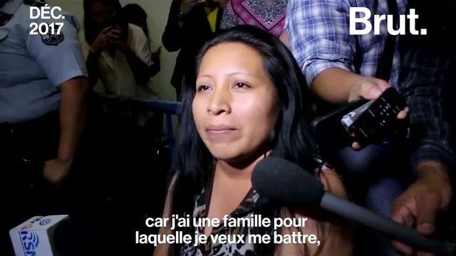 Brut : libération teodora vasquez