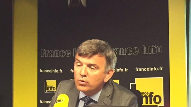 Olivier Lebouché, président de la fédération des prestataires de santé à domicile (FEPSAD) (Radio France / Cyril Destracque)