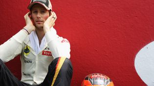 Le pilote Lotus Romain Grosjean, lors du Grand Prix d'Espagne, le 13 mai 2012. (MARK THOMPSON / GETTY IMAGES)