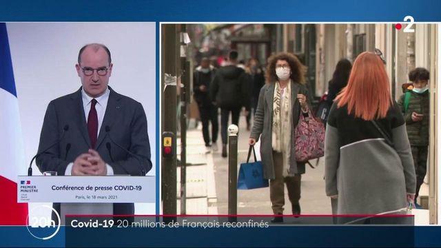Covid-19 : quelles sont les nouvelles restrictions dans les 16 départements français reconfinés ?