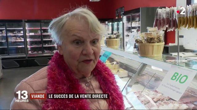 Viande : le succès de la vente directe