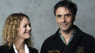 Vanessa Paradis et Samuel Bechetrit, ici à Los Angeles en avril dernier.  (VALERIE MACON / AFP)