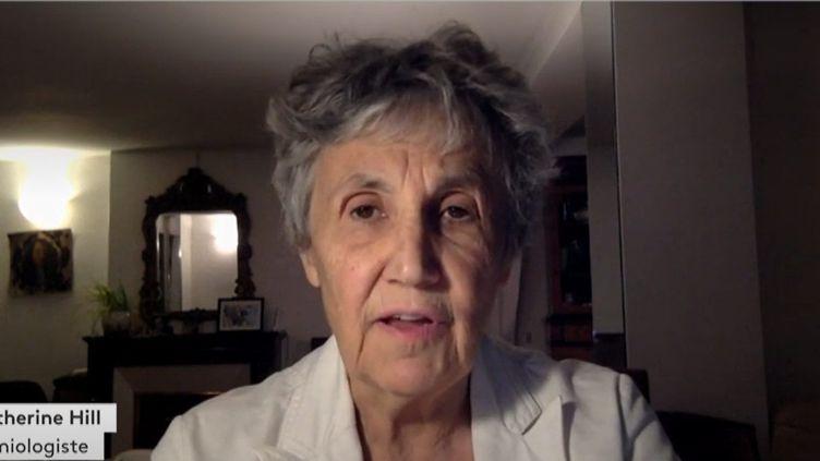 Catherine Hill (Capture d'écran Franceinfo)