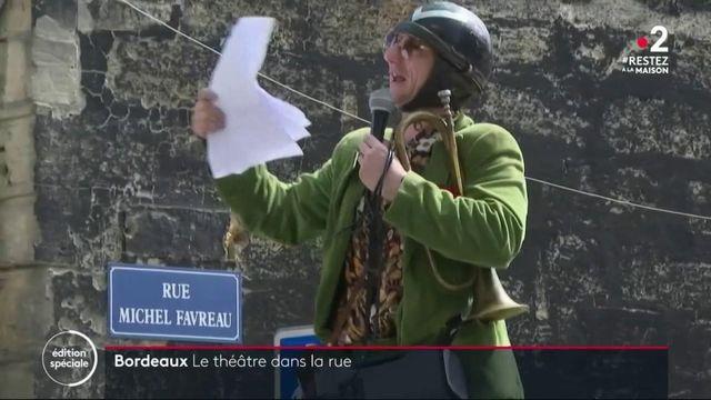 Gironde : des crieurs de rue pour égayer le confinement