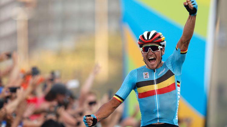 Greg Van Avermaet remporte l'or olympique (ADRIAN DENNIS / AFP)