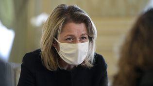 Barbara Pompili, ministre de la Transition écologique (11 février 2021). (MAXIME JEGAT / MAXPPP)