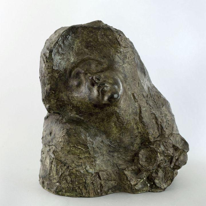"""Antoine Bourdelle """"Baiser aux volubilis"""" 1900  (Musée Bourdelle, Paris / photo Eric Emo )"""
