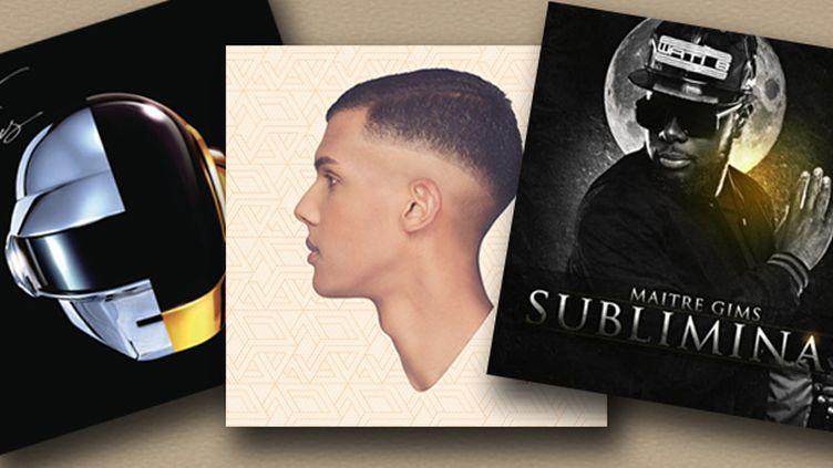 Stromae et Daft Punk champions des ventes de disques en 2013  (Culturebox)