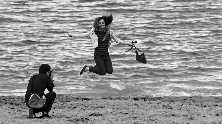 un remake sur la plage de Cannes  (Jean-François Lixon)