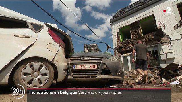 Belgique : une semaine après les violentes inondations