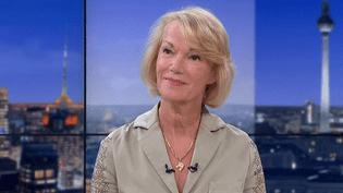 Brigitte Lahaie sur le plateau du Soir 3, le 7 mai 2018  (culturebox - capture d'écran)