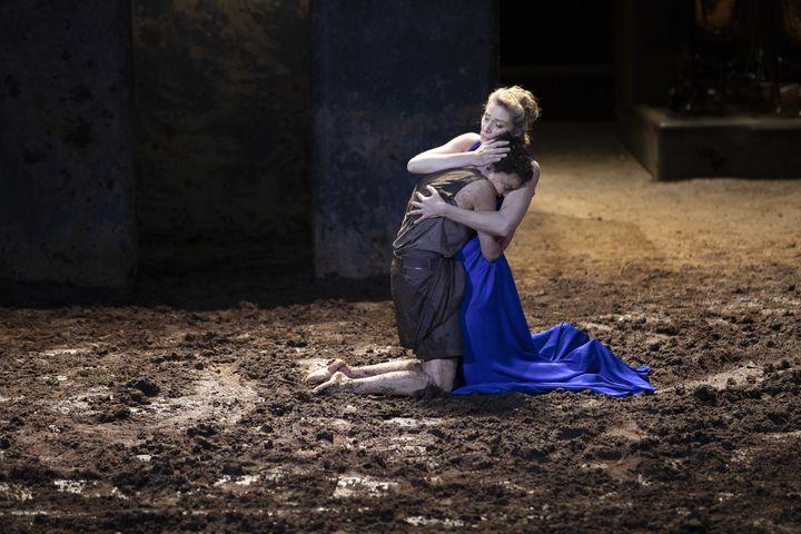 Electre / Oreste d'Euripide, mise en scène Ivo van Hove (Jan Versweyveld coll. Comédie-Française)