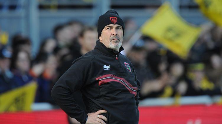 Jacques Delmas n'est plus l'entraîneur des avants du RCT (XAVIER LEOTY / AFP)