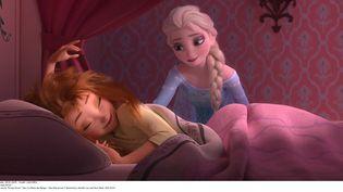 """Une capture d'écran du dessin-animée """"La Reine des neiges'"""" de Disney. (LILO / SIPA)"""