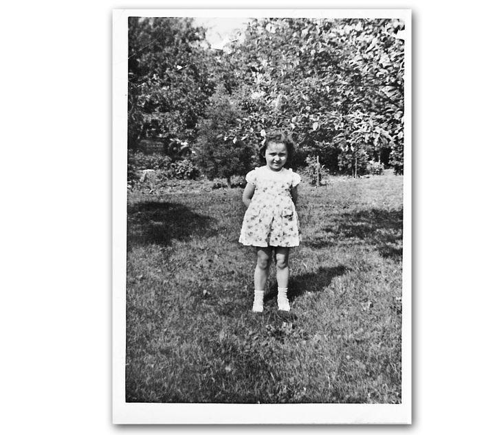 Joyce, 3 ans, dans le jardin de la maison de Millersport  (Fred Oates)