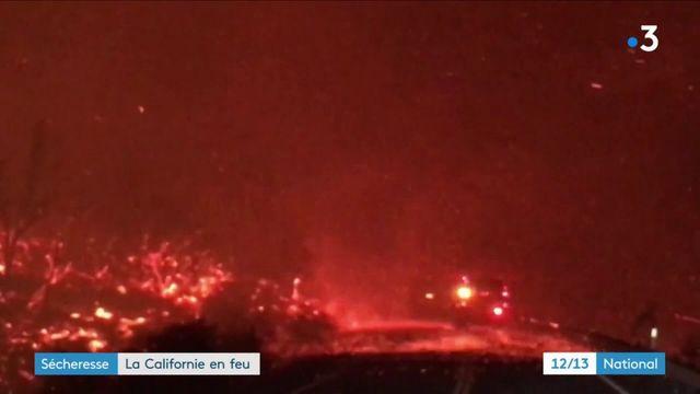 Sécheresse : la Californie en feu