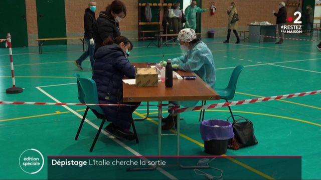 Italie : les tests sérologiques pratiqués à grande échelle