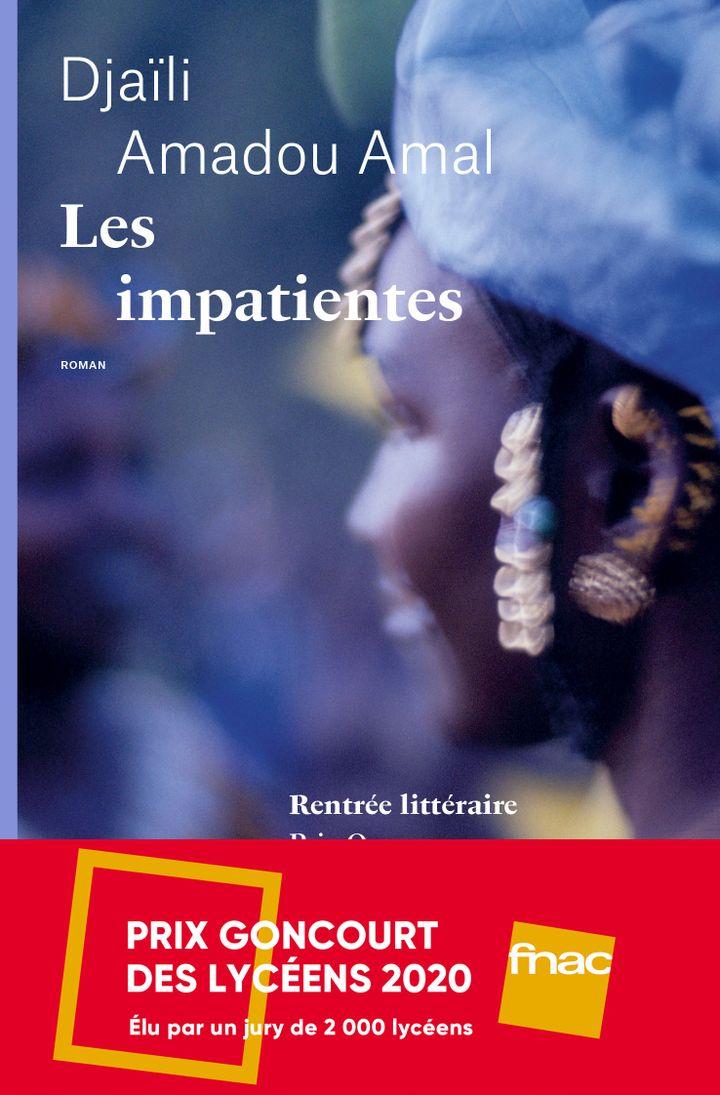 """Le prix Goncourt des Lycéens a été octroyé cette année auroman """"Les impatientes"""" de Djaïli Amadou Amal, qui évoque le destin de trois femmes du Sahel. (Emmanuelle Collas)"""