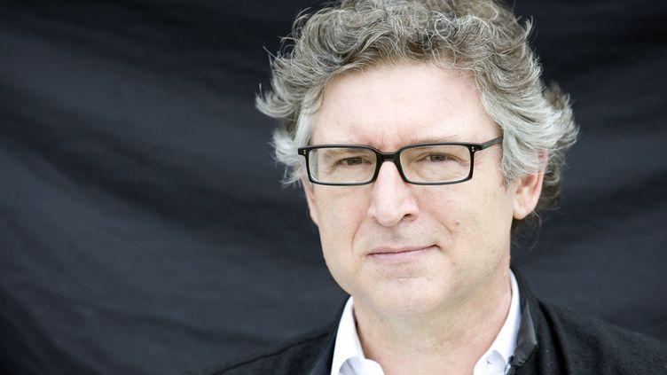 Michel Onfray, en juin 2013 à Argentan (Orne). (YANNICK COUPANNEC / AFP)